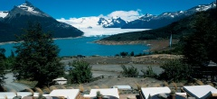 Hosteria Los Notros - Lake terrace
