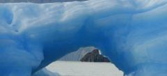 North to South - glacier