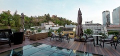 Hotel Magnolia - roof terrace