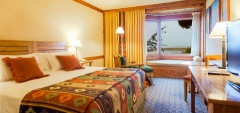Hotel Mirador del Lago - Lake-view bedroom