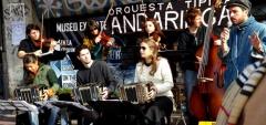 Musicians at San Telmo Market