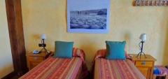 Patagonia Rebelde - twin bedroom