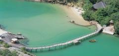 Ponta dos Ganchos - Aerial View