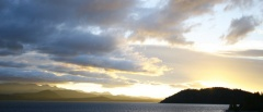 Bariloche and the Lake District - Lake sunset