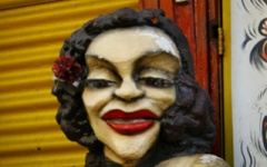 Wine and Culture - La Boca sculpture